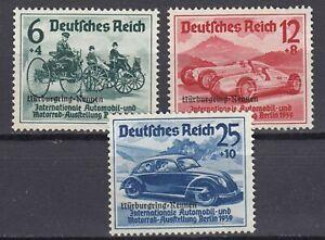 Germany, Deutsches Reich 1939,  Mi.695-697, *MH