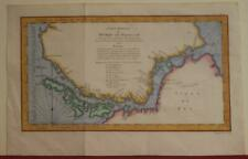 SOUTH AMERICA CHILE ARGENTINA 1753 BELLIN ANTIQUE ORIGINAL COPPER ENGRAVED MAP