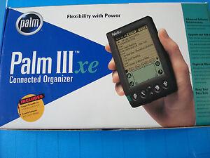 Vintage PALM IIIxe Personal Handheld Organizer