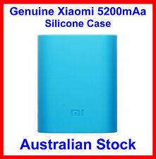 Genuine Soft Silicone Case Blue for Xiaomi 5200mah Power Bank