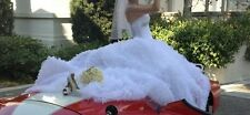 Maggie Sottero WEDDING DRESS/Ball gown, size 6-8, Tulle