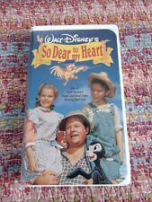 So Dear to My Heart (VHS, 1992) Burl Ives Bobby Driscoll Clamshell