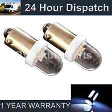 2 x BA9S T4W 233 Xenon weiß DOME LED Standlicht Standlichtbirnen HID sl100202