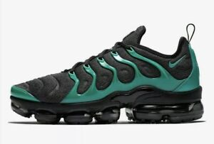 Size 8 - NIKE Air VaporMax Plus Black Emerald Grey Running Shoes 924453-013 Men