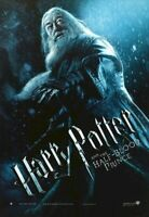 HARRY POTTER ~ HALF-BLOOD PRINCE DUMBLEDORE ~ 27x39 MOVIE POSTER  Michael Gambon