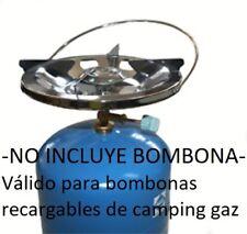HORNILLO COCINA PARA CAMPING GAZ (cocinas bombona gas azul campingaz 1 fuego)