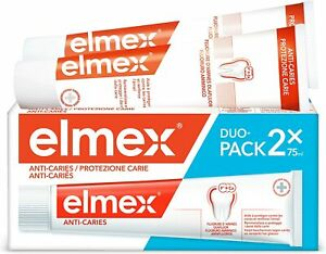 Elmex Toothpaste Caries Protection  - 2 Pack of 75ml
