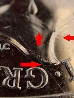 Rare Error - Sir Isaac Newton 2017 50p Fifty Pence Coin