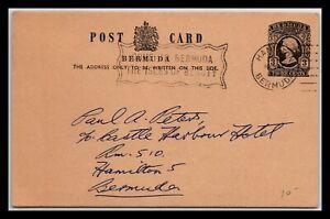 GP GOLDPATH: BERMUDA POSTAL CARD 1873 _CV676_P10