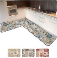 Tappeto cucina casa bordato angolare o corsia al metro su misura mod.CHALET54