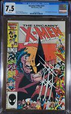 X-Men #211 - CGC 7.5 - 1st full appearance of the Marauders