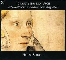 Sonata Violin 1/Partita For Solo Violin 1/2 - J.S. Bach (2007, CD NEUF)