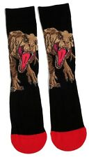MENS JURASSIC WORLD SCARY DINOSAUR SOCKS UK SIZE 6-11 / EUR 39-46/USA 7-12