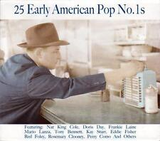 25 EARLY AMERICAN POP NO. 1s - VARIOUS ARTISTS (NEW SEALED CD)