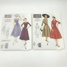 Vogue Vintage Model Original 1950s Design 2401 & V1044 Dress Sewing Pattern 000023Af s Pt2
