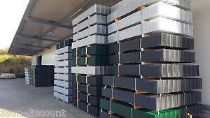 630-2430 Doppelstabmatten Mattenzaun Industriezaun Stahlgitterzaun Gitterzaun 66