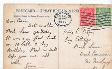 Genealogy Postcard - Family History - Cooper - Near Newbury - Berkshire   BB888