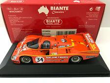 1:43 Minichamps / Biante 1984 Le Mans #34 Porsche 956 (Brock/ Perkins - DNF)