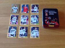 M1 - M9 McDonalds Sticker, komplett - WM 2018 FIFA World Cup Russia v. Panini*