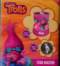 TROLLS STAR PROJECTOR MASTER LIGHT LED PROJECTOR LAMP KIDS BEDROOM