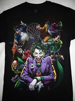 Penguin, Harley Quinn,Cat Woman Joker,Two Face, Riddler Villians Dc Comics Shirt