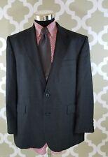 Alexandre Grey Plaid 95% Wool, 5% Cashmere 2 Button Blazer Size 44 S US, 54S EUR