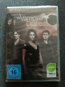 The Vampire Diaries: Staffel 6 (2015, DVD video) NEU OVP