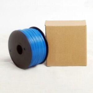 Bobina da 1kg di filamento PLA 3mm blu scuro per stampanti 3D nuovo sigillato