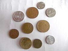 (A4 2)-ANNEE 1986-LOT DE PIECES PAYS DIVERS-voir liste