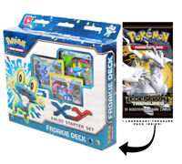 Froakie Kalos XY Pokemon 60-Card Starter Deck w/ Legendary Treasure Booster Pack