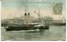CPA - Carte Postale - France - Boulogne sur Mer - Une Promenade en Mer - 1908 (M