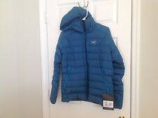 Arc'Teryx Men's Thorium AR Down Hoody Thalo Blue Medium NWT