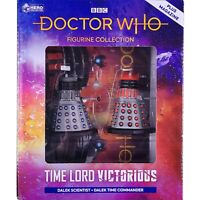 Doctor Who Time Lord Victorious COMMANDER DALEK SCIENTIST Figurines Eaglemoss #2