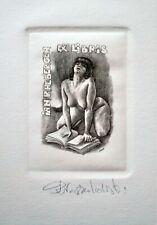 Ex Libris Jan Rhebergen - Piotr Naszarkowski