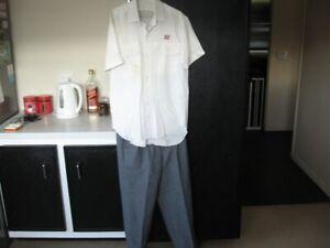 Queensland Rail Railway QR White Shirt Grey Trousers Station Master not Porter
