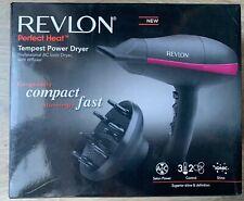 Revlon Hairdryer Salon Power 3 Heat 2 Speed With Diffuser New