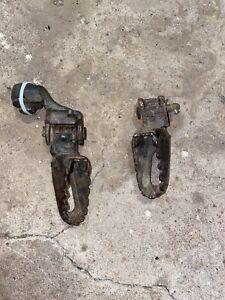 1992 Yamaha YZ80 Pair Of Foot Pegs