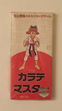 Scarce 1990 Japanese The Karate Master Box of Cards- Sealed