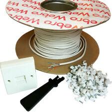 Câbles, cordons et adaptateurs Longueur 30 m pour téléphone fixe