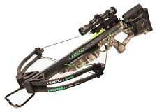 Horton Legend Ultra-Lite Crossbow Lighted Scope, Bolts, Quiver W/ AcuDraw 50
