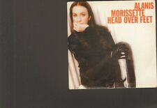 ALANIS MORISSETTE Head over Feet CDSingle 4 track LIVE You Learn ao