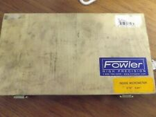 "Fowler 2-12"" Inside Micrometer, With Box. 52-243-212-1."