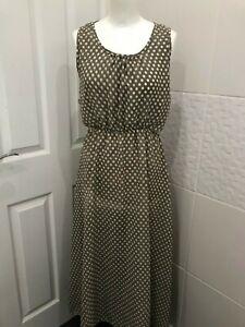 Beautiful Dress - 10 - Polka Dot Print - New