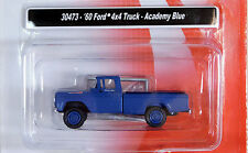 Classic Metal Works 1/87 HO 1960 Ford 4X4 Truck Academy Blue 30473