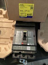 Square D PowerPact Hg060 Hga36060 3 Pole 60A Circuit Breaker 600V - Fast Ship
