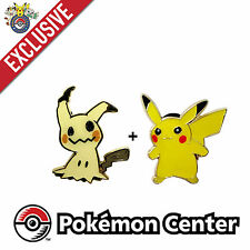 Nintendo Pokemon Center MimiKyu Pikachu Gold Sun Moon Tournament Pin Ultra RARE