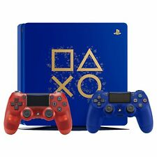 Sony PlayStation 4 1TB Limited Edition Days of Play Bundle + Crystal Red Control