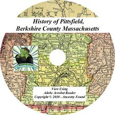 1869 History Pittsfield, Berkshire Co Massachusetts MA