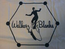 WALKER BLANKS LONG BOARD S/S LARGE LOGO ON BACK WITH SMALL LEFT CHEST