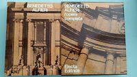 BENEDETTO ALFIERI L'opera completa - Electa 1978 In cofanetto 1a edizione NUOVO!